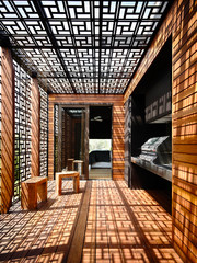 A Contemporary Twist: Latticed Screens & Jali Designs