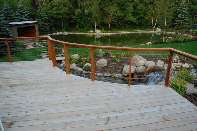 Erbsville Retreat contemporary-deck