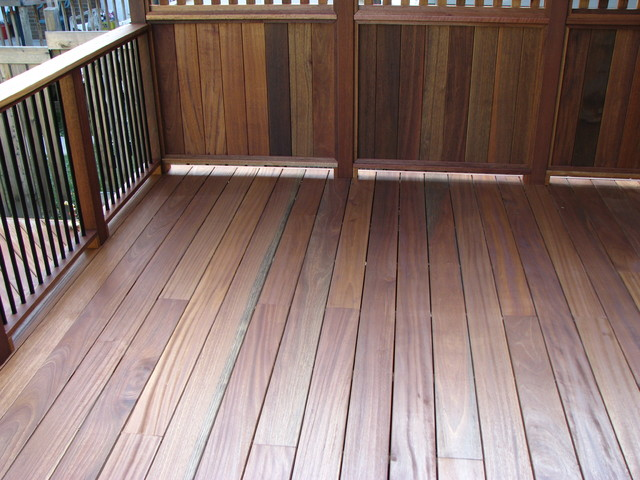 Exotic Decking Railing, And Privacy Screen   Traditional ...