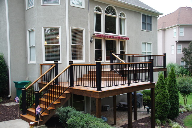 exotic hardwood decks traditional deck atlanta by atlanta