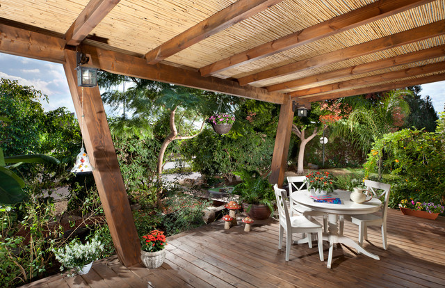 Exterior Tropical Deck Other By Elad Gonen