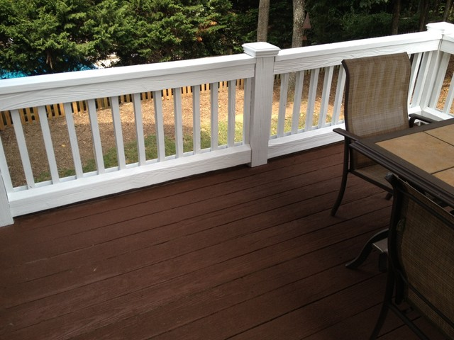 Exterior Painting And Staining Traditional Deck Charlotte By Fox Brothers Painting