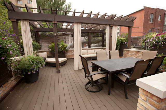 Exterior Spaces traditional-deck