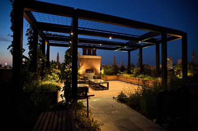 Exterior Spaces contemporary-deck