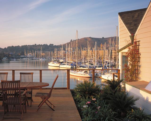 Exterior views beach-style-deck