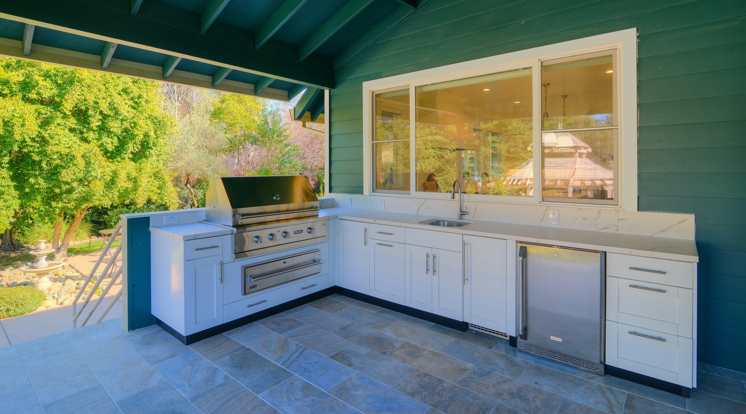 Fair Oaks Deck Remodel and Kitchenette Addition