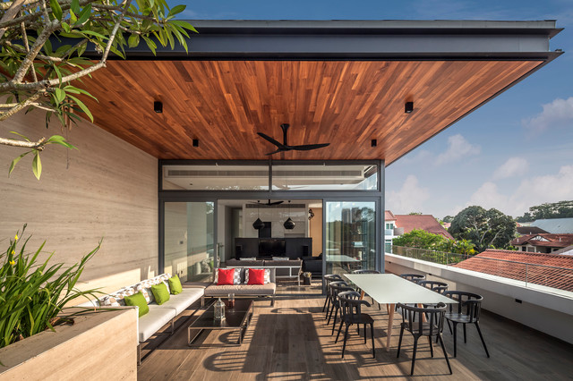 Far Sight House contemporary-deck