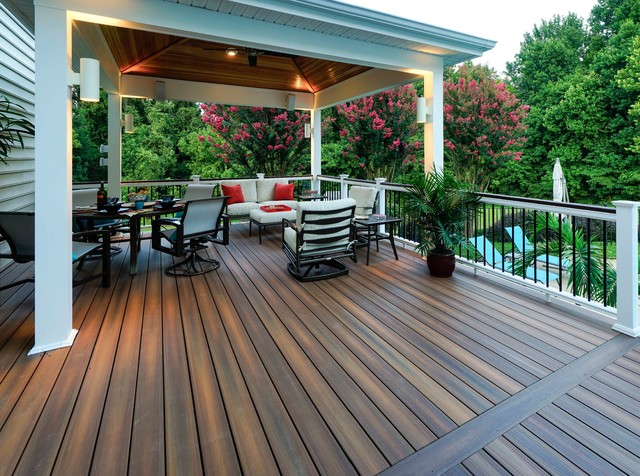 Fiberon Composite Decking Transitional Deck