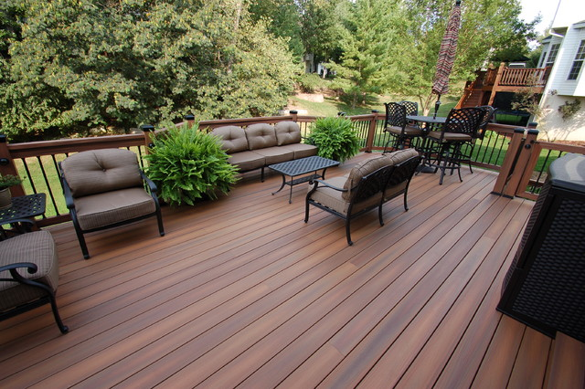 Fiberon Horizon Ipe Deck Traditional Deck St Louis