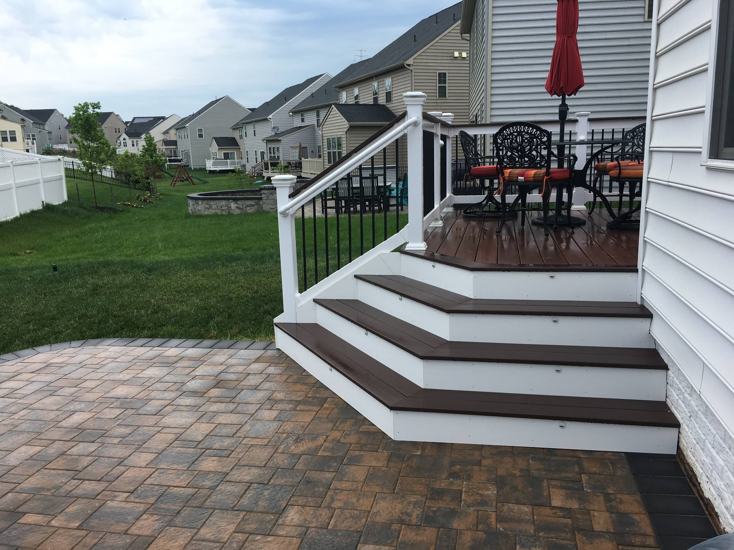 Fieldcrest Decking w/ patio