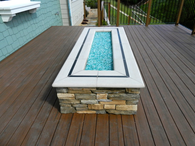 Fire Pit Traditional Deck San Francisco By