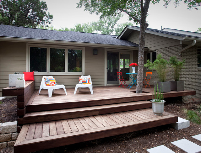 Foothill Terrace Modern Deck Austin By