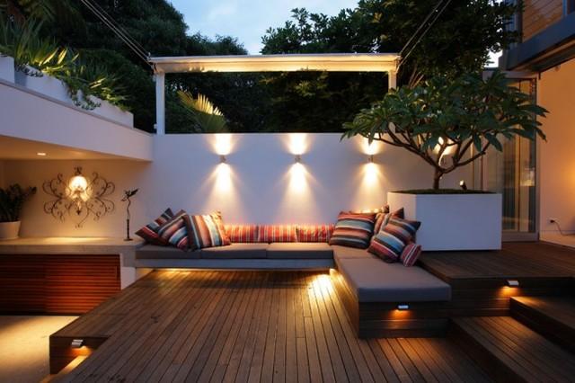 Fresh + Modern Inner City Courtyard Garden by Secret Gardens of Sydney - Contemporary - Deck ...