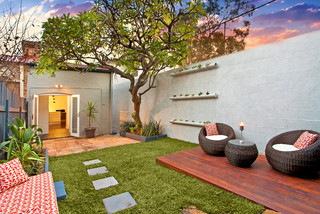 From outdated to updated - Contemporary - Deck - Sydney - by Inspired Property Designs