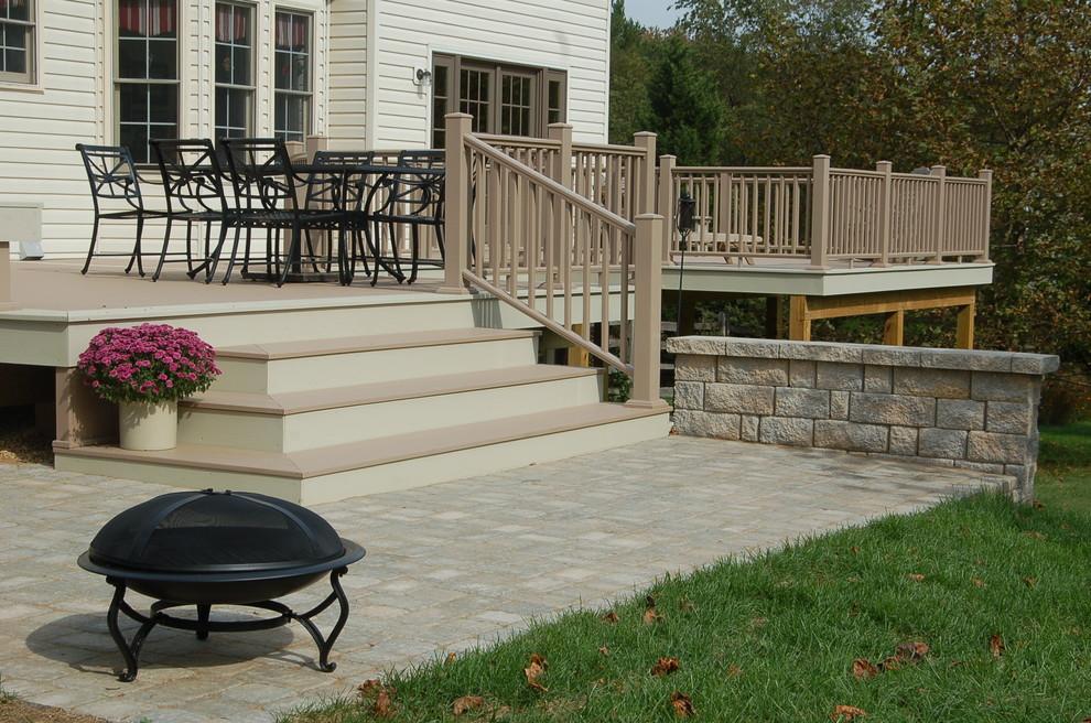 Gaithersburg Maryland Azek Deck - Traditional - Deck - DC ...