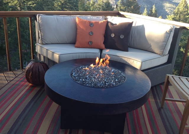 Gas Fire Pits By Oriflamme Tablestraditional Deck Denver