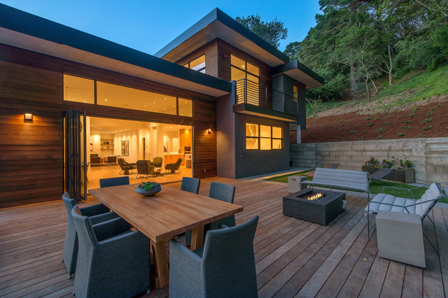 Glass + Timber Mill Valley Contemporary - Contemporary ...