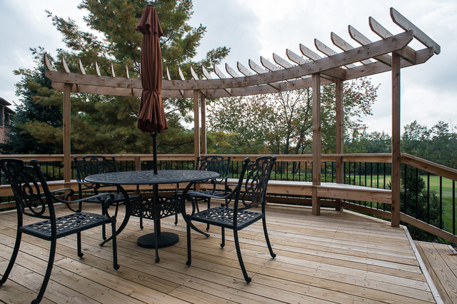 Golf Course Overlook Traditional Deck Detroit By
