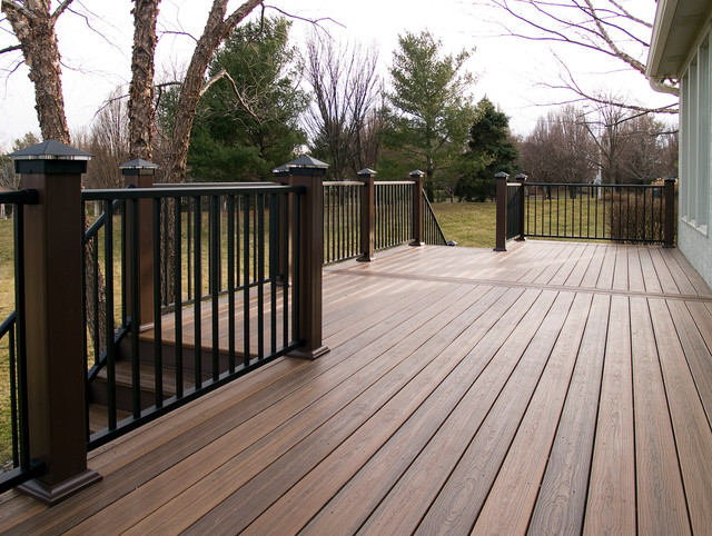 Gossman envision composite deck in leawood ks for Envision decking