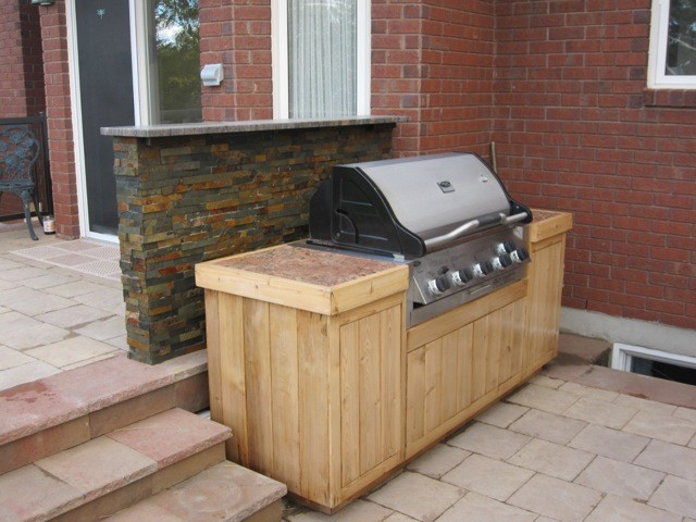 Grilling Station Traditional Deck Ottawa on Simple Office Work Stations