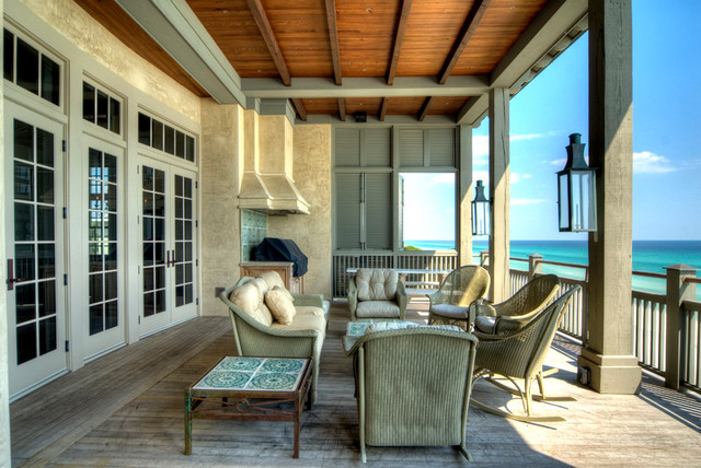 Gulf Coast Residence eclectic-deck