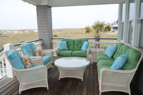 beach-style-deck The Best Wicker Conversation Sets You Can Buy