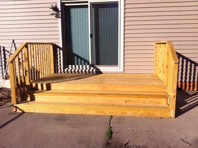 hanover patio door steps
