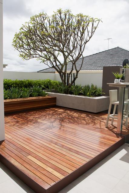 Contemporary Deck Perth Harrisdale contemporary-deck