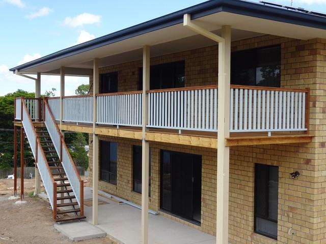 High Set Decks Contemporary Deck Brisbane By All