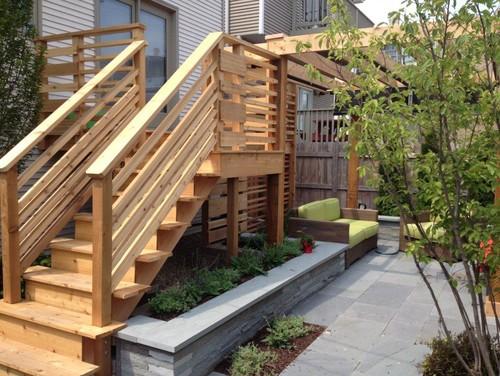 small outdoor deck ideas