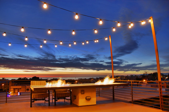 How To Hang String Lights Outdoors, How To Do String Lights On Patio