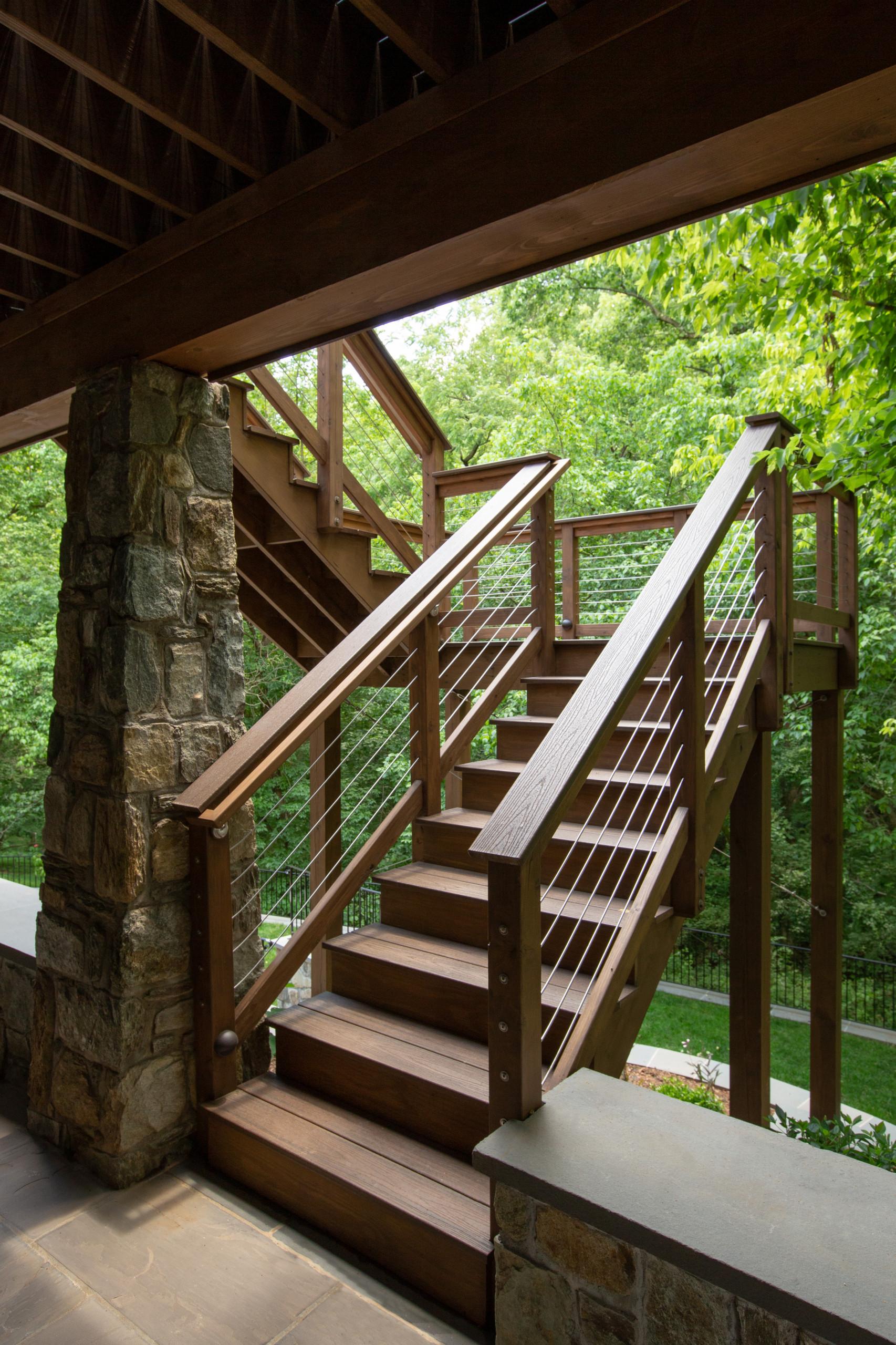 Hillside Deck