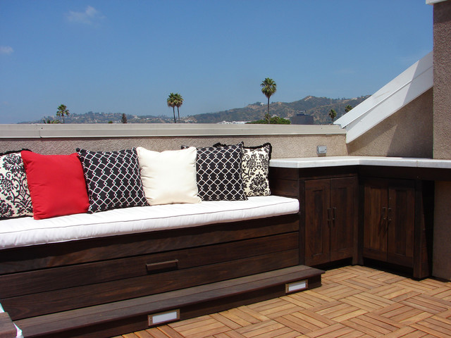 Hollywood Rooftop Deck contemporary-deck