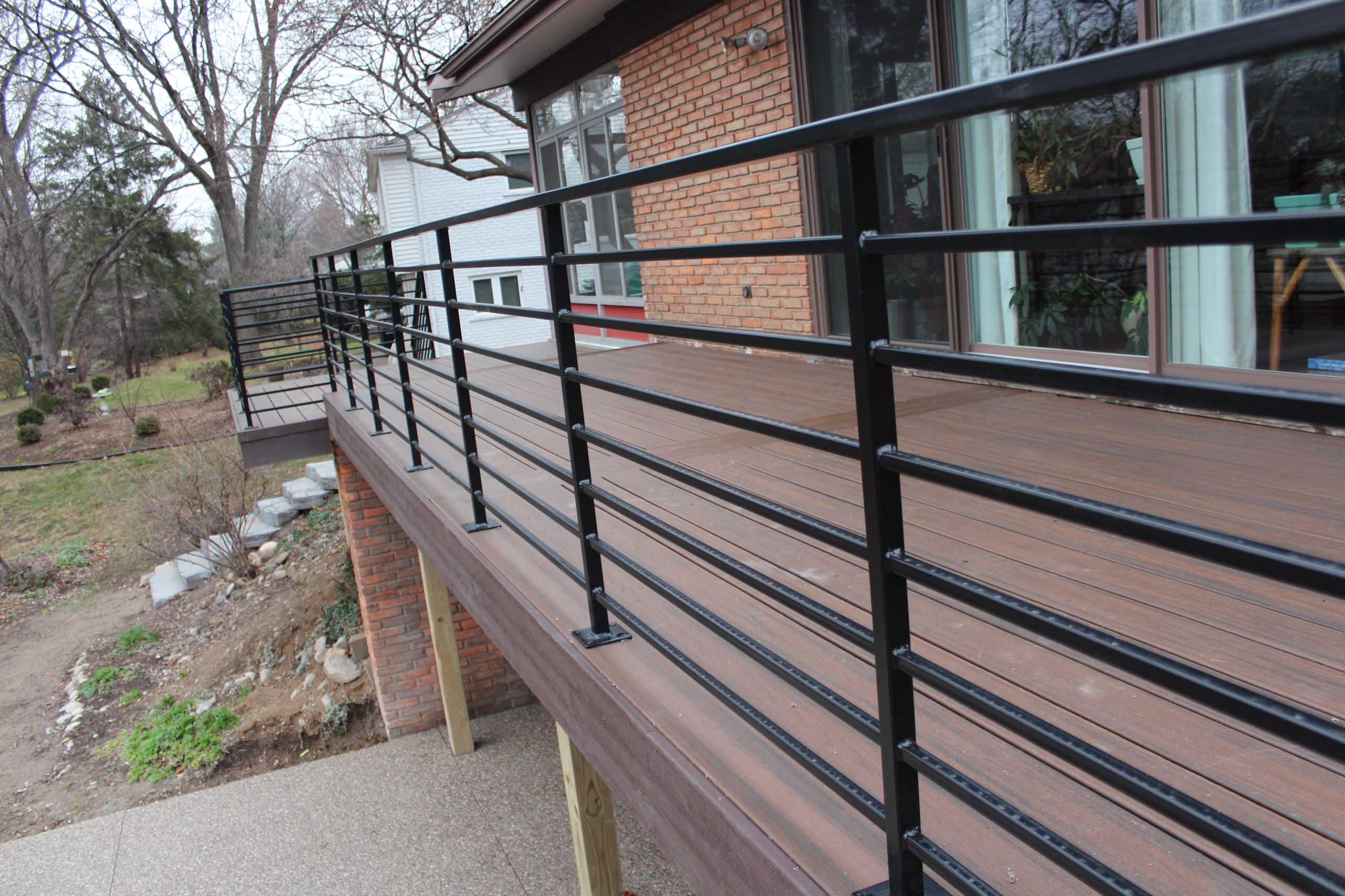 Horizontal Deck Railing Houzz