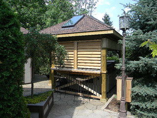 Hot Tub / Spa Enclosure - Craftsman - Deck - Toronto - by Flexfence