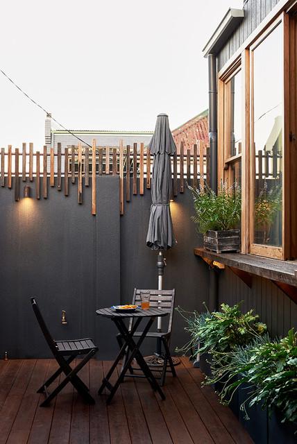 House 2022 contemporary terrace balcony sydney for Origin of balcony