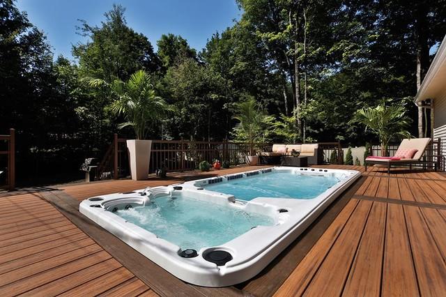 Hydropool Self Cleaning Swim Spas - Minimalistisch ...