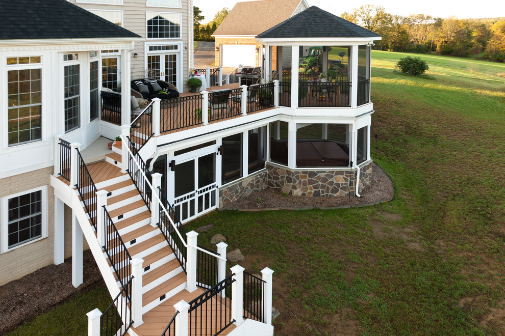 Inspiration for a timeless deck remodel in Other