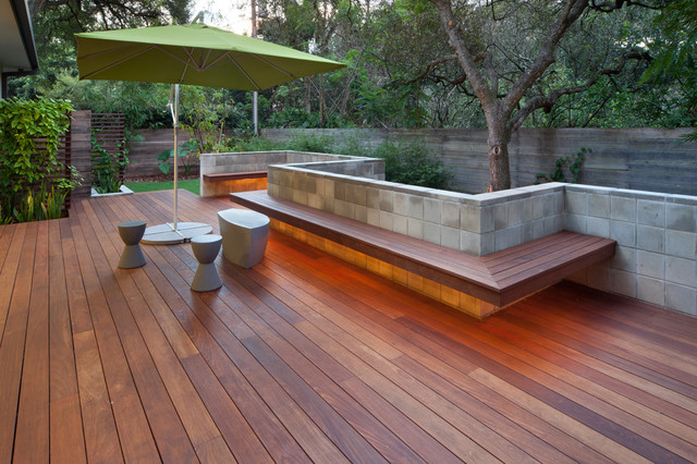 IPE Outdoor Living Contemporary Deck Other Metro