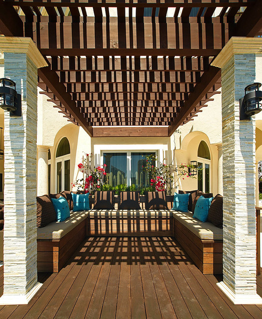 Island Estates Residence Mediterranean Terrace Miami By B G Design Inc