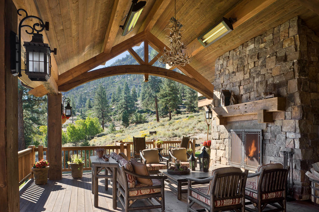 Job's Peak Ranch Residence - Rustic - Deck - other metro ...