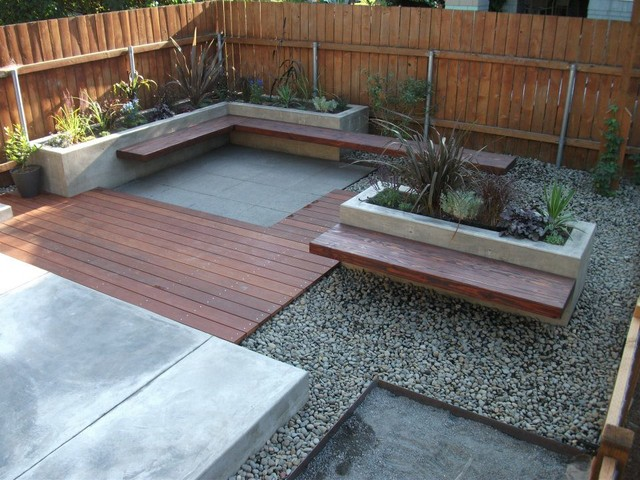 Kerby Street Residence Contemporary Deck Portland