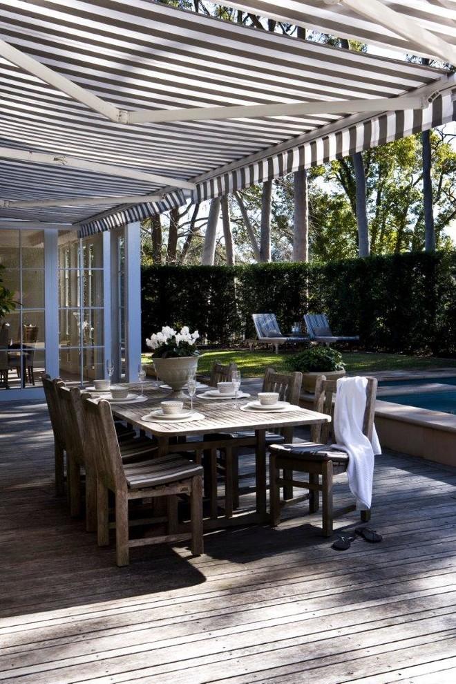 Elegant deck photo in Sydney
