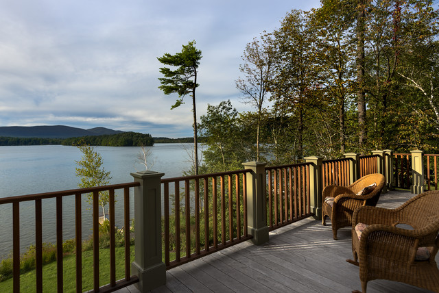 Lake House Traditional Deck New York By Crisp