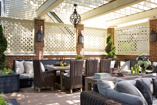 10 Clever Ways To Structure Your Outdoor Room