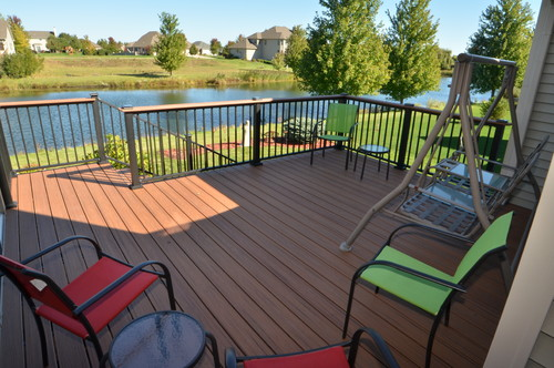 New Deck Addition in Kane County IL