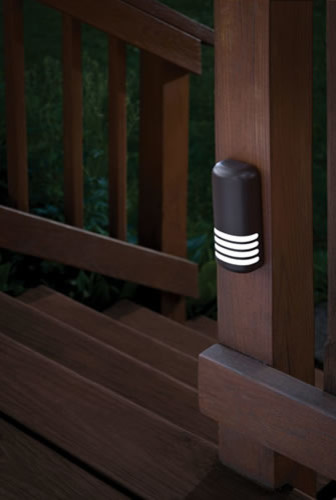 Led Battery Operated Deck Lights With Dusk To Dawn Photocell