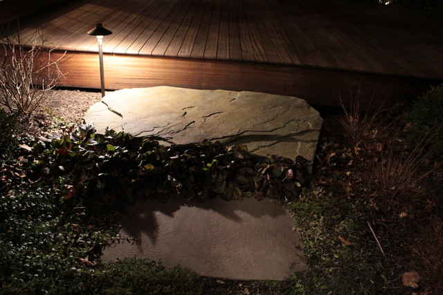 led landscape lighting by garden artisans llc cranbury nj