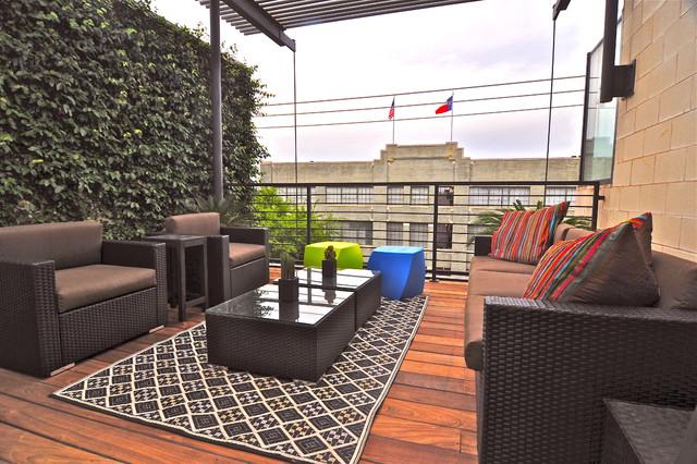 Loft contemporary-deck