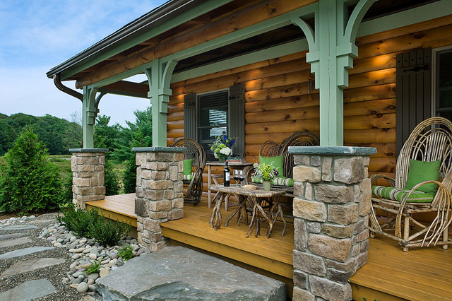 Log homes cabins coventry log homes the silver ranch for Log cabin additions ideas